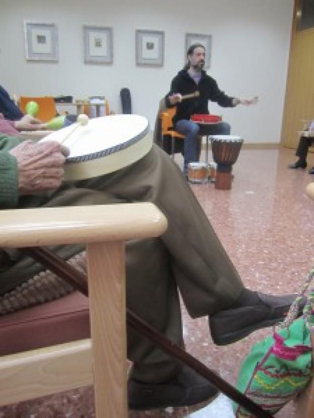 Sesiones de musicoterapia